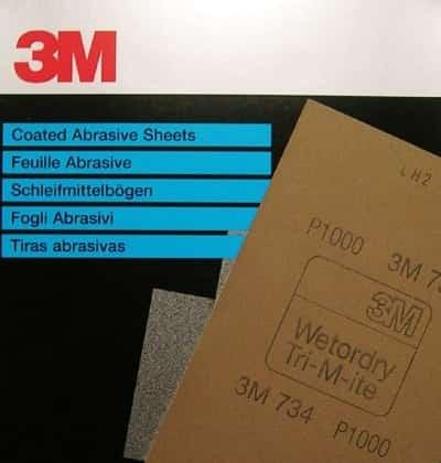 3m wetordry schuurpapier