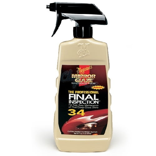 Meguiars Mirror Glaze Final Inspection Spray 473ml.