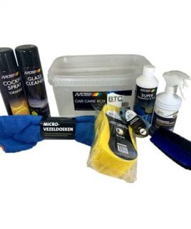Car Care Box Motip set van 7